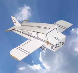 Flygplan måla själv