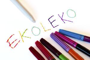 Tuschpenna som byter färg